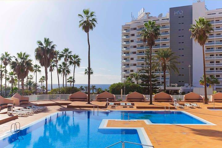Beach apartment with 1 bedr Costa Adeje #7 - Costa Adeje - Betjent leilighet