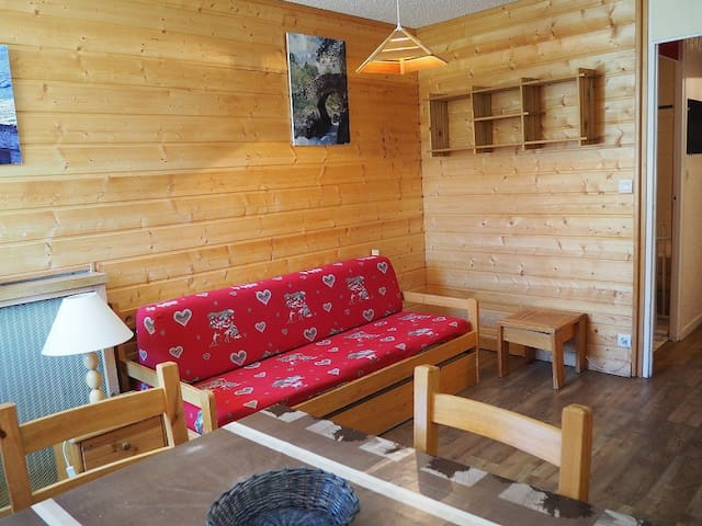 Studio of 22m ² for 3 people.
