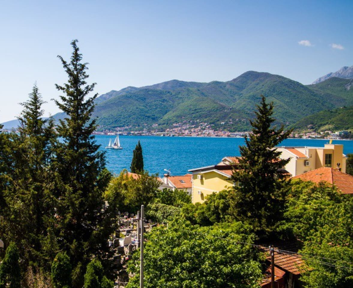 Sea view on Tivat bay