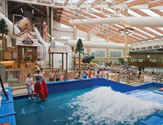 Vacation in the Wisconsin Dells Water Park - Baraboo - Apartament
