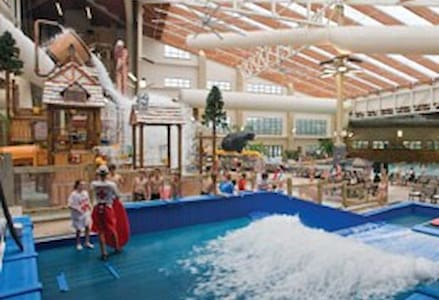 Vacation in the Wisconsin Dells Water Park - Baraboo