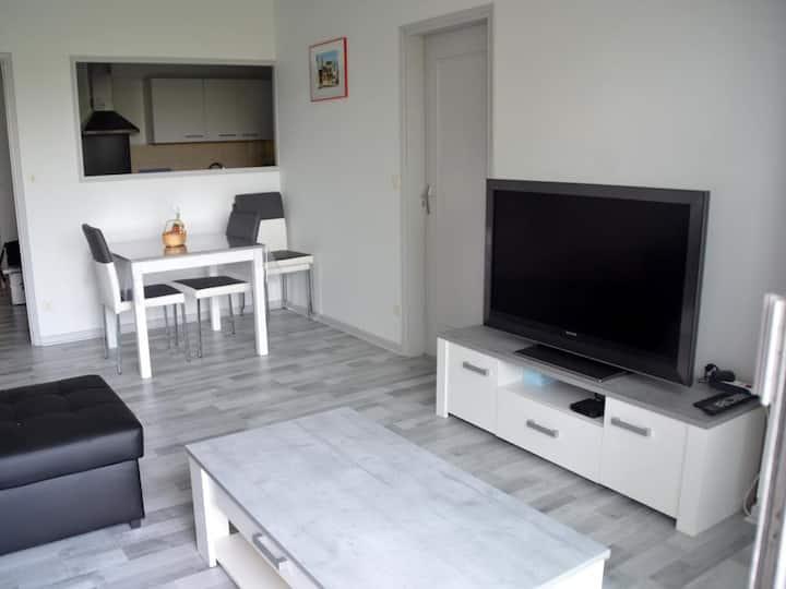 T2 Centre Albi, résidence sécurisée, parking, Clim