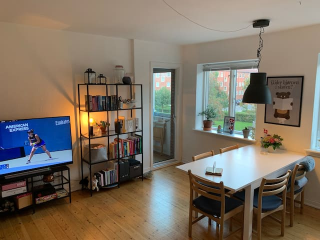 Cosy apartment in quiet area close to city center