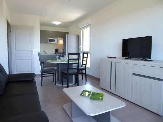 Appartement tout confort dans résidence neuve - Argelès-sur-Mer - Apartamento