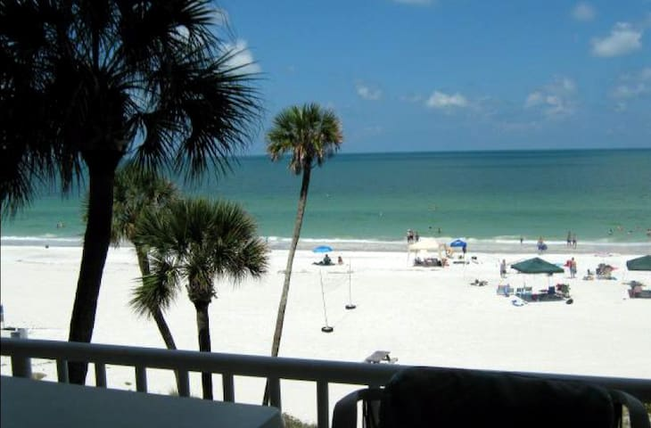 Direct beachfront luxury condo! (weekly rental) - Indian Shores - Ortak mülk