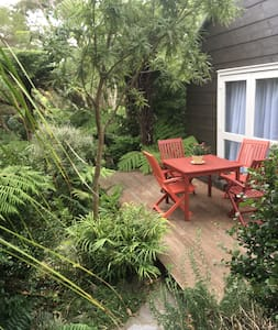 Garden haven  in the suburbs with beaches close by