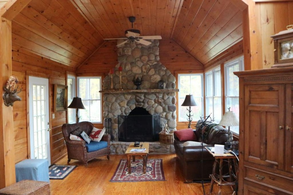 Pine cottage great room