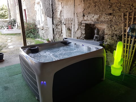 Gîte le logis de L'Ogrie avec spa 30min Puy du Fou