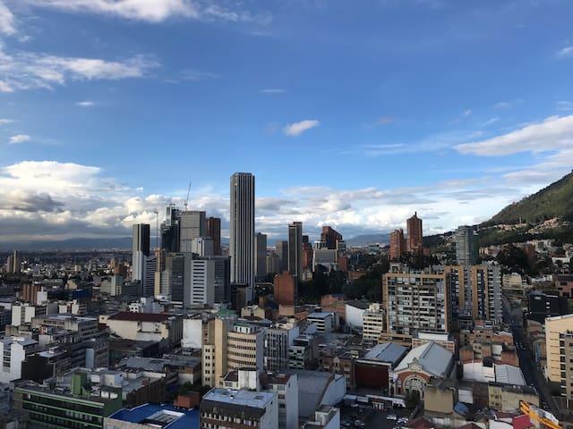 Bogotá down town