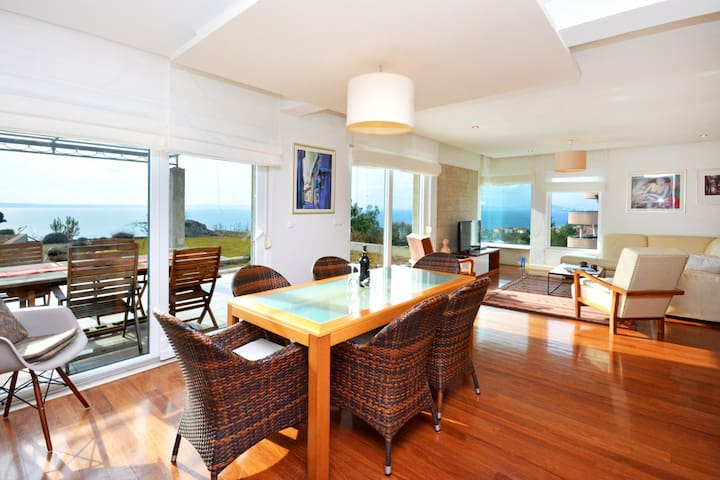 luxury penthouse with private garden and seaview