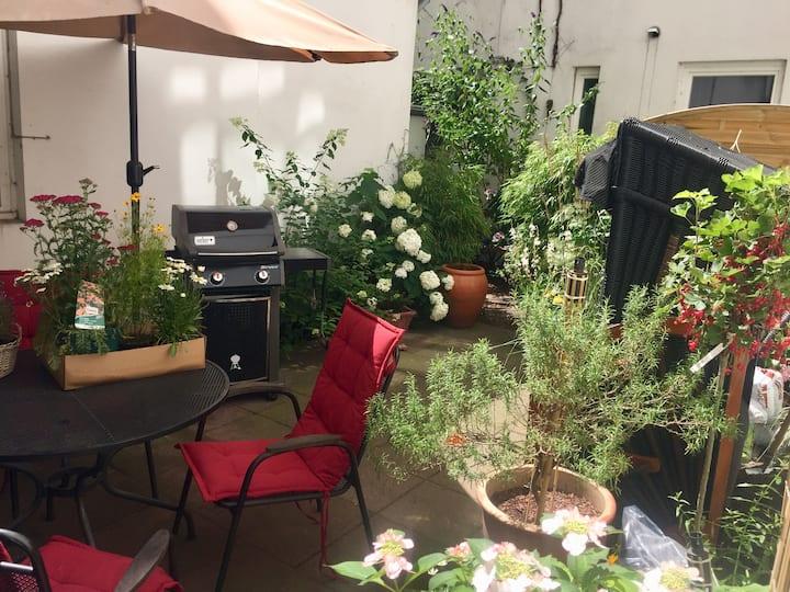 Charmanter ruhiger Altbau mit Garten am Mühlenkamp