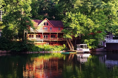 Lodge on Grey Log Cove - Lake Lure