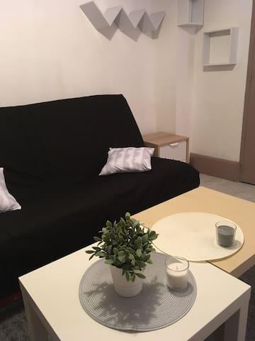 Agréable studio hypercentre rénové