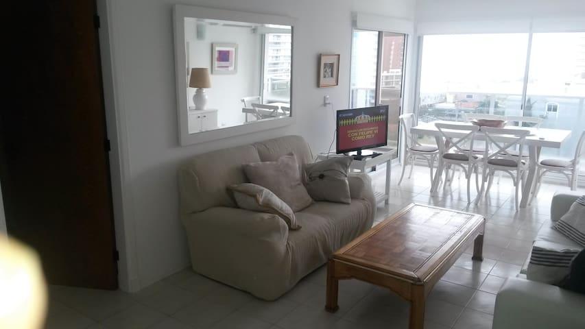 Confort, buenos servicios y excelente ubicación - Punta del Este - Apartment