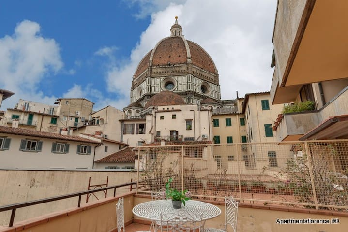 Duomo Charme - Terrace with Stunning Views