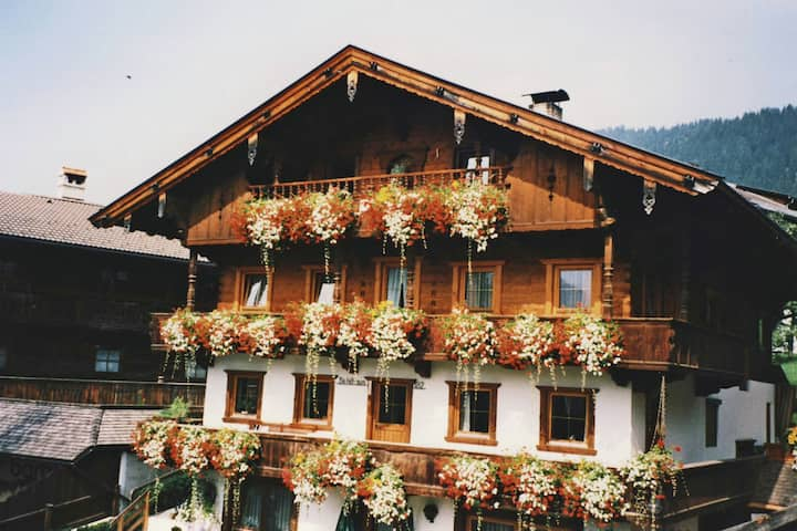 Apartment in Alpbach with Parking, Balcony, Storage, Heating