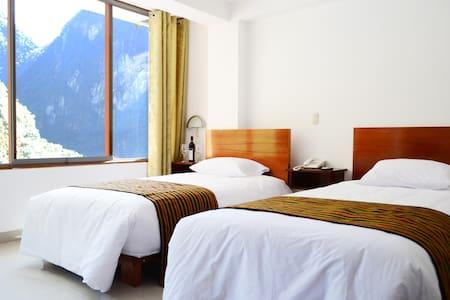 HABITACIÓN DOBLE CON BAÑO PRIVADO - Aguas Calientes - 公寓