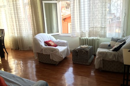 comfortable and spacious / central room in ortaköy - Besiktas - Leilighet