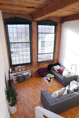 Spacious TriBeCa style loft