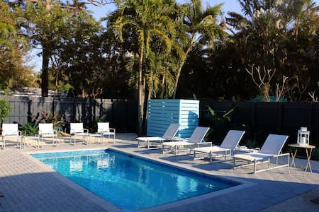 Island City Oasis, Unit 1, Hummingbird Suite - Wilton Manors - Bungalow