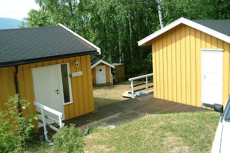 Idyllisk hytte ved Tyrifjorden, 40 min fra Oslo - Hole - Kabin