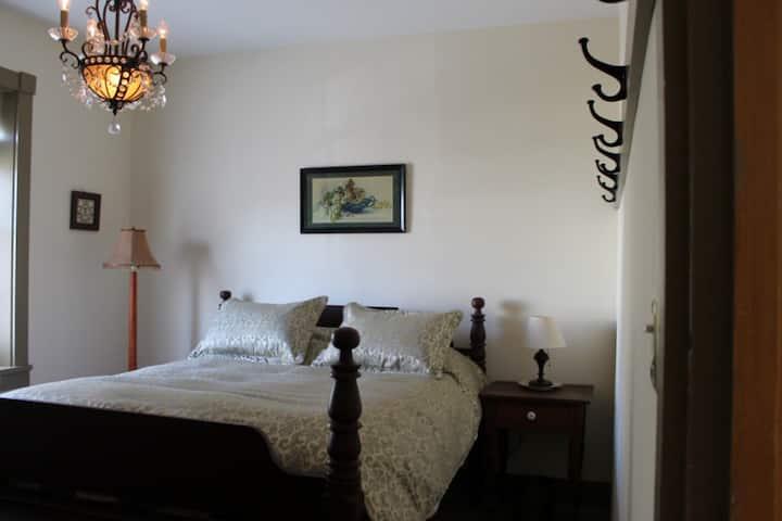 Subtle Spring Room  McBurney Manor
