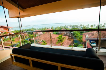 Sea View Villa with infinity pool - Nerul