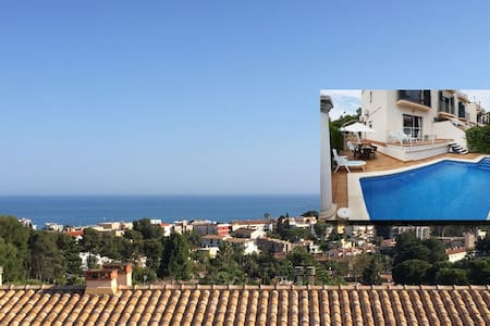 Spacious Sitges House, Pool, Sea & Mountain Views. - Sitges