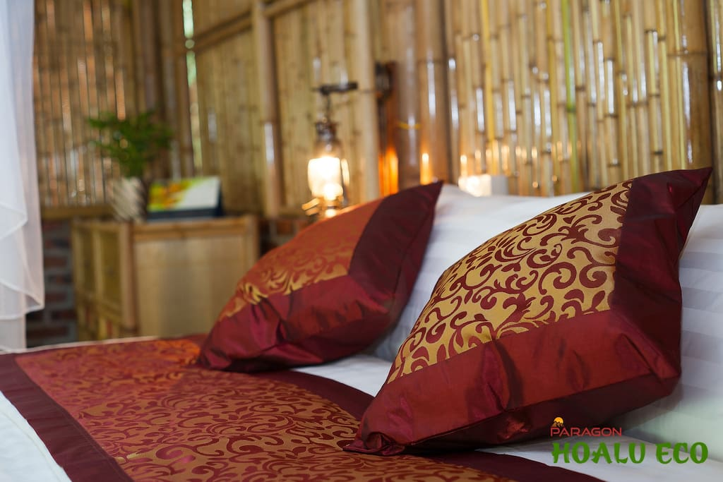 Bamboo bungalow Luxury Double Room