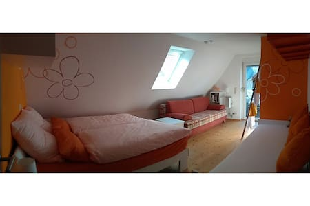 Großfamilien-Zimmer Nähe Europapark u. Freiburg - Sasbach am Kaiserstuhl - Haus