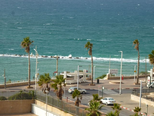 BAT YAM / TEL AVIV 5 ROOMS SEA VIEW beach at 100M