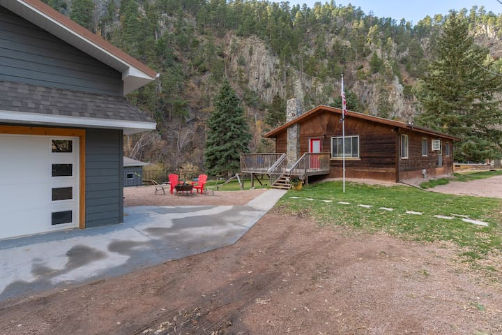 This creekside cabin home never disappoints. The views are breathtaking.