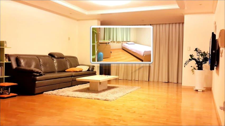 [1번방] 분당의 넓고 깨끗한 아파트 - Seongnam-si, Bundang-gu - Appartement