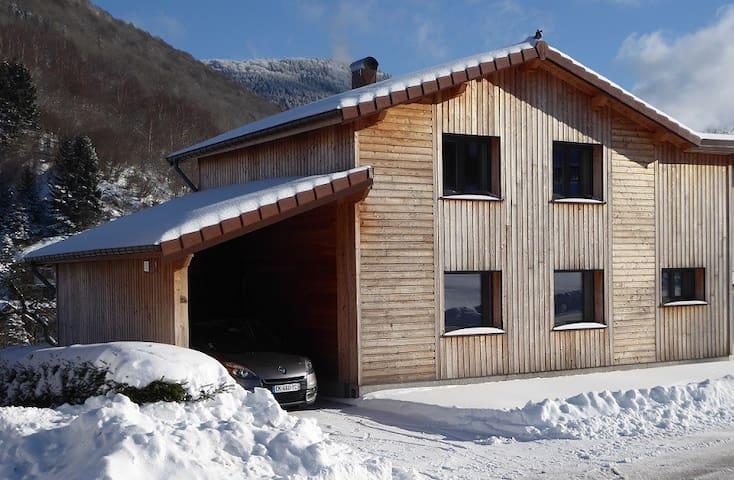 chalet neuf espace nature plein air - La Bresse - House