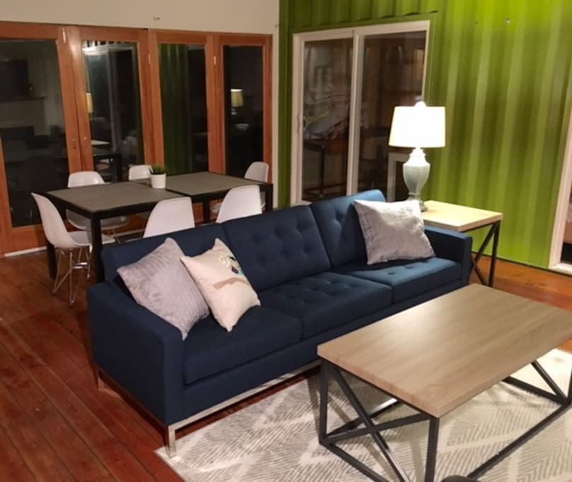 Relax in style just two blocks from the beach