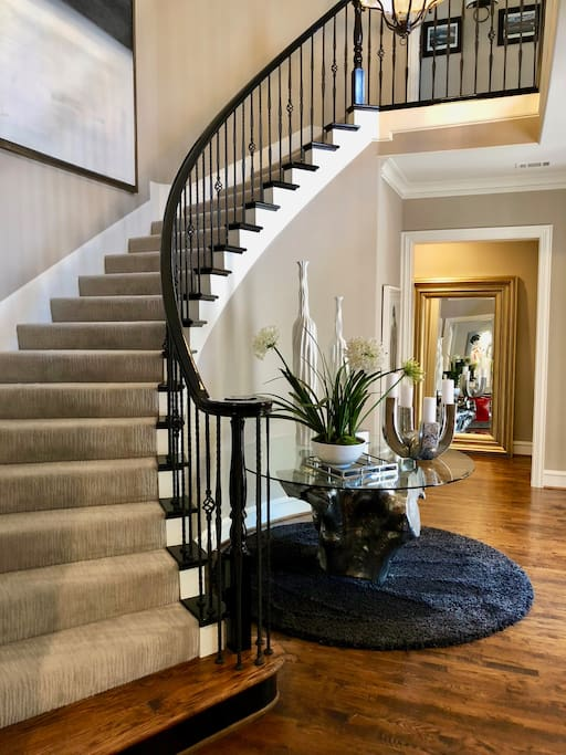 Amazing front entry way