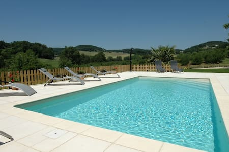 High Quality with a Private Pool near the Village - Castelmoron-sur-Lot