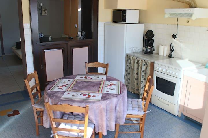 Appartement rez de jardin de 47m2 - Bogève - Wohnung