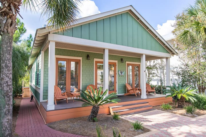 Sea Rest. 4br/4bath one level home, private, in Seacrest Beach. Specials.