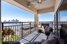 Welcome to the Sunny side of Louisville!  Penthouse views await at The Harbours!
