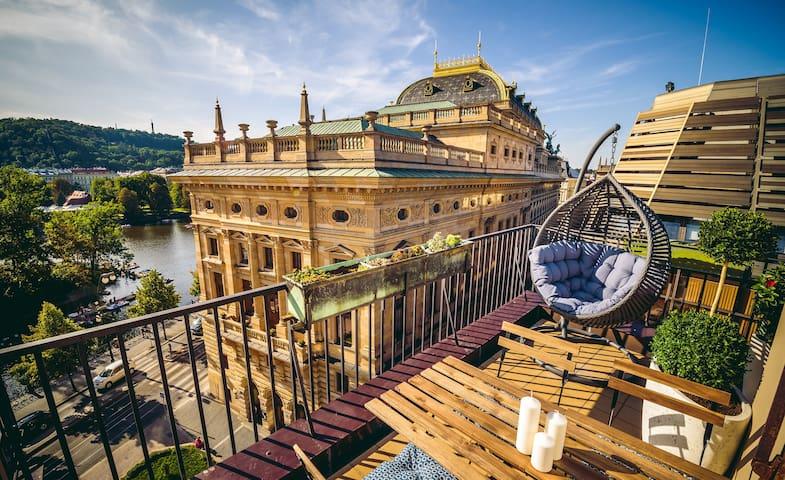 ❤❤❤ Mozart's Hideaway ❤❤❤+OMG terrace, Old town