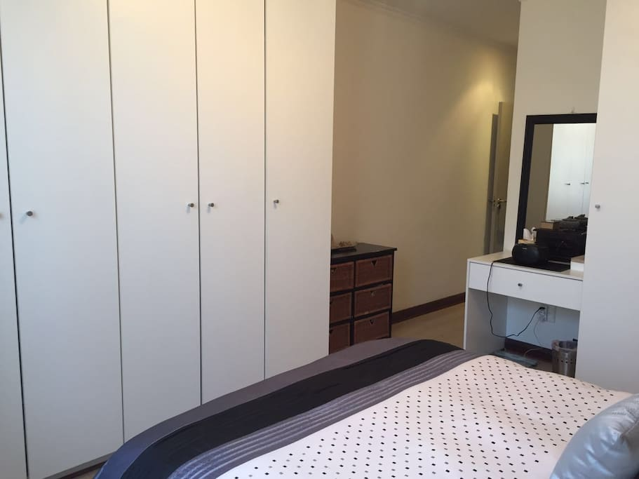 Bedrooms with cupboards