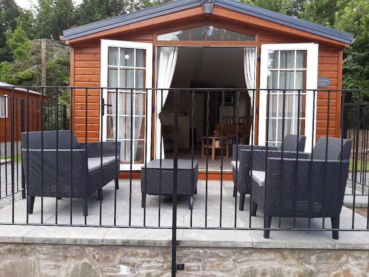 Ochilview lovely 2 bed lodge in Grand Eagles