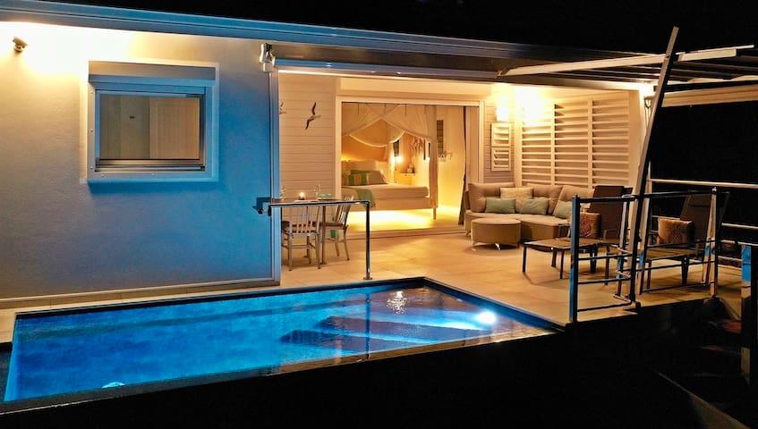 Blue Haven Villas, piscine privée, accès mer, 2p.