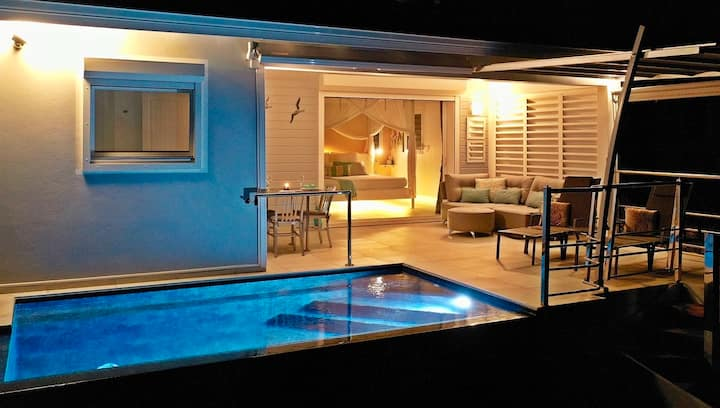 Blue Haven Villas. Blue Moon, private pool, 2p.