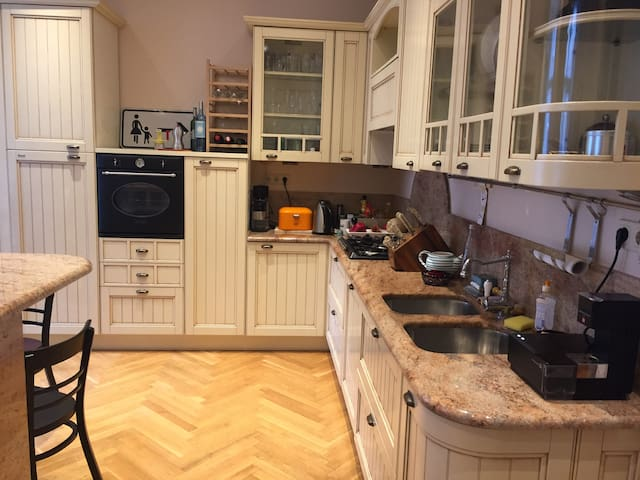 200 m2 flat near the city center - Viyana - Daire