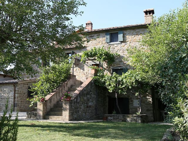 Luxury Country Living in Tuscany with pool - Cortona - Casa