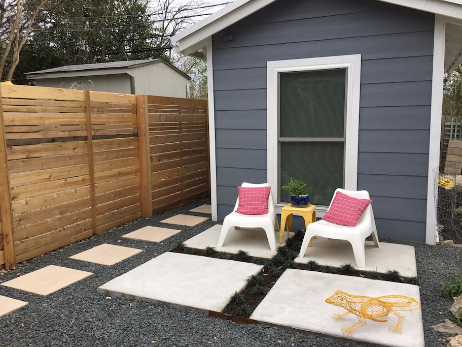 your own patio