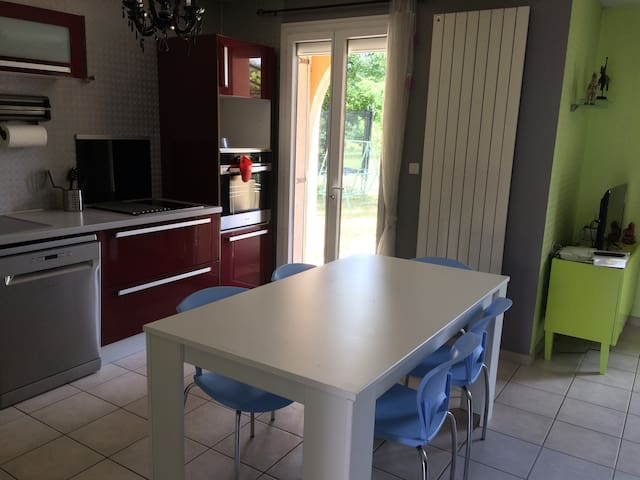 Maison 6/7pers à 5min de Mâcon en Bourgogne