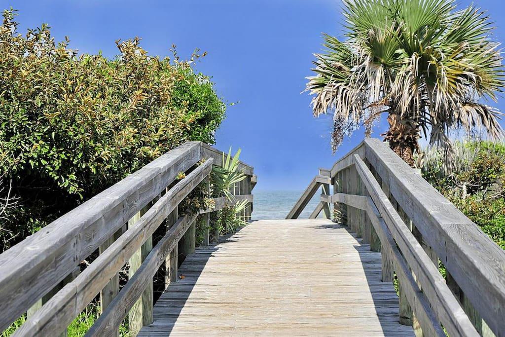 Beach Access Walkover